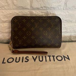 Louis Vuitton Orsay Wristlet Clutch